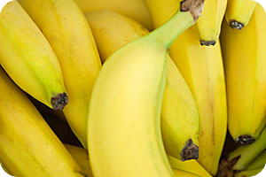Bananas usually cultivated in Crete Island, Messinia or imported